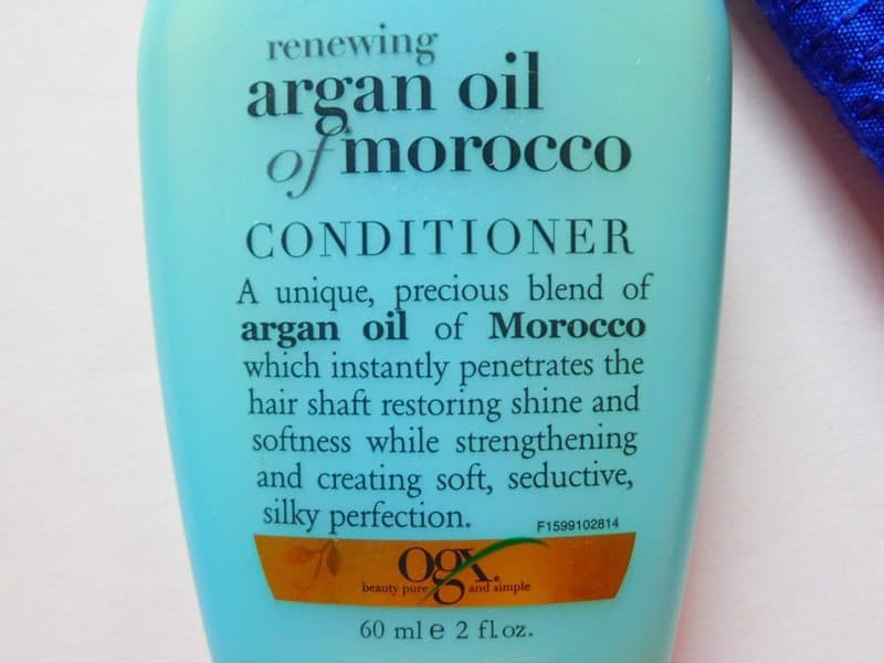 Ogx Argan Oil of Morocco Conditioner Review 1