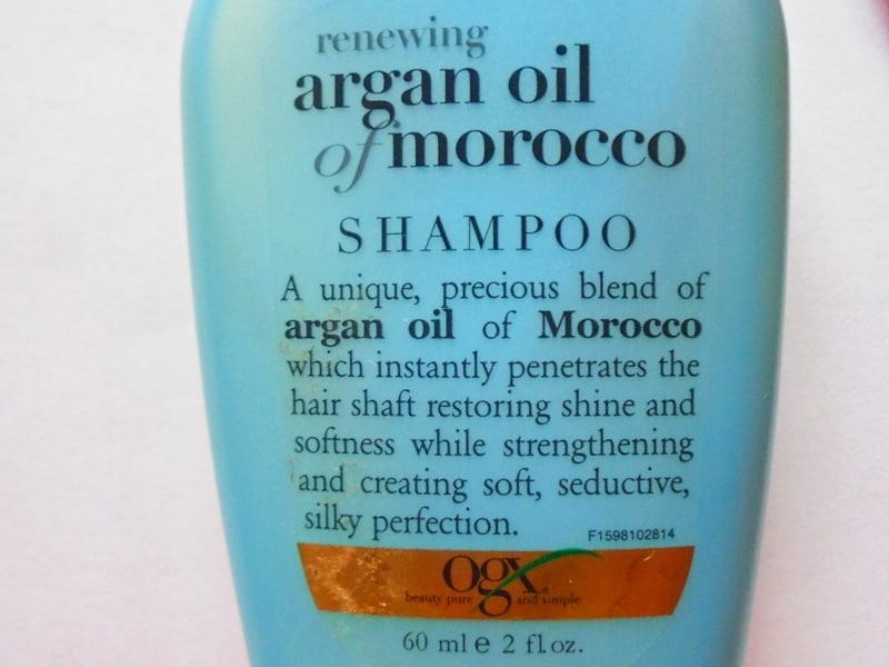 Ogx Argan Oil of Morocco Shampoo Review