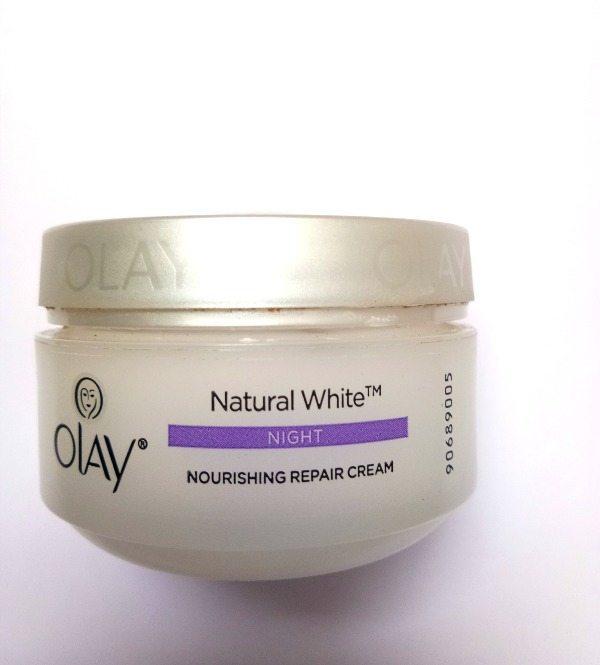 Olay Natural White Night Nourishing Repair Cream Review 2