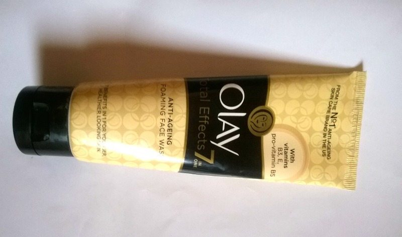 Olay Total Effects 7 In One Anti Ageing Foaming Face Wash Review