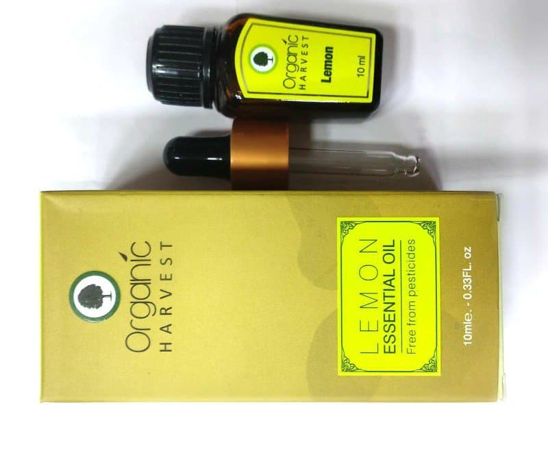 Organic Harvest Lemon Essential Oil