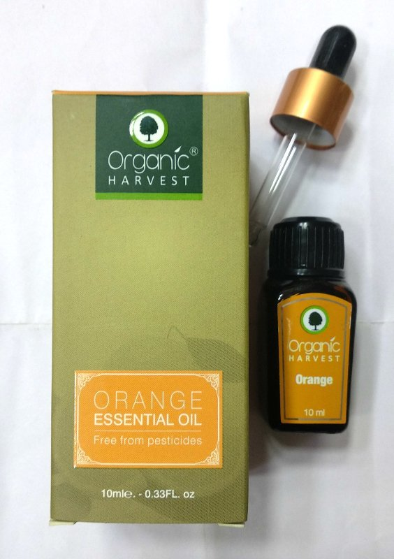 Organic Harvest Orange Essential Oil