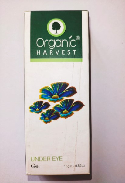 Organic Harvest Under Eye Gel Review