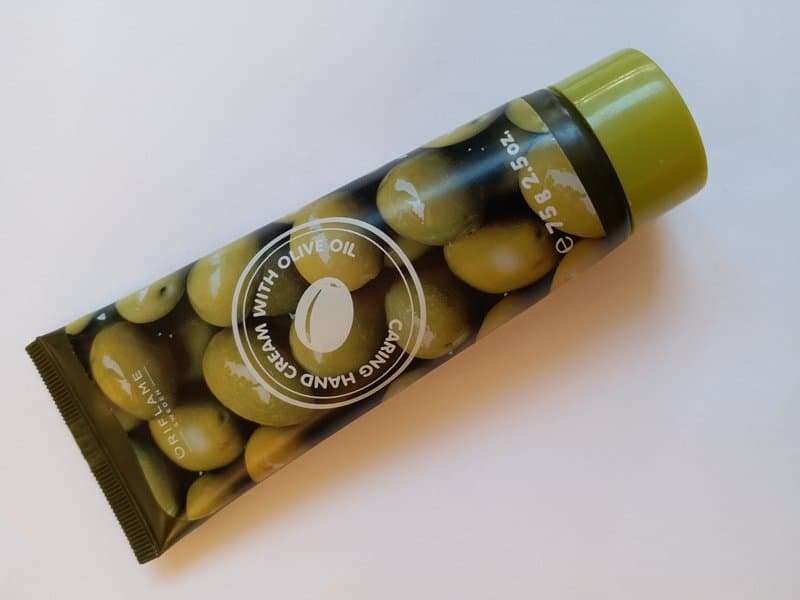 Oriflame Caring Hand Cream with Olive Oil