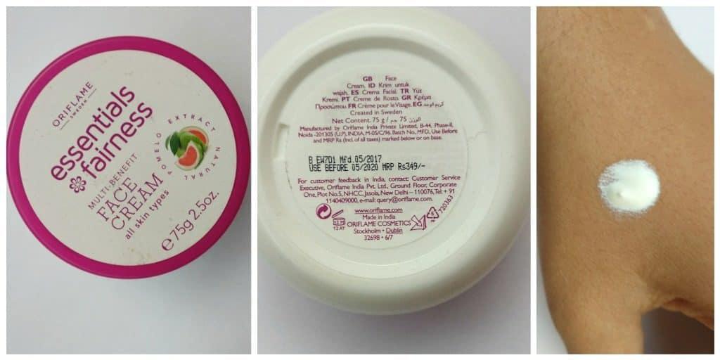 Oriflame Essential Fairness Multi Benefit Face Cream