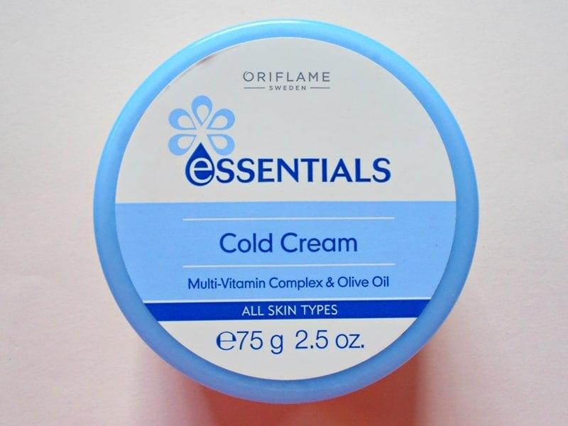 Oriflame Essentials Cold Cream Review