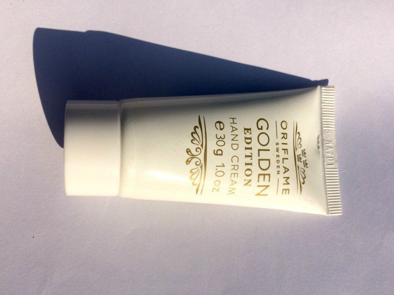 The Oriflame Golden Edition Hand Cream