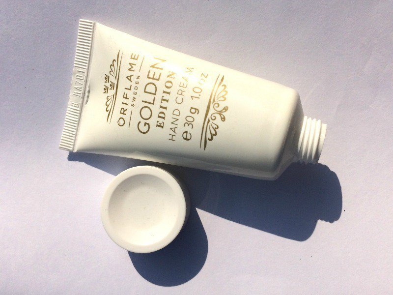 The Oriflame Golden Edition Hand Cream 1