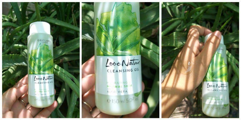 Oriflame Love Nature Aloe Vera Facewash