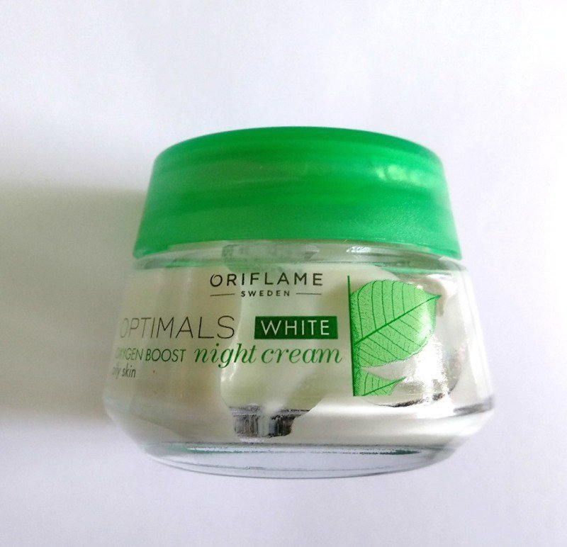 Oriflame Optimals White Oxygen Boost Night Cream 1