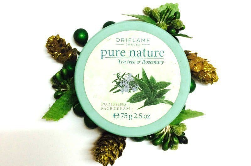 Oriflame Pure Nature Tea Tree & Rosemary Purifying Face Cream