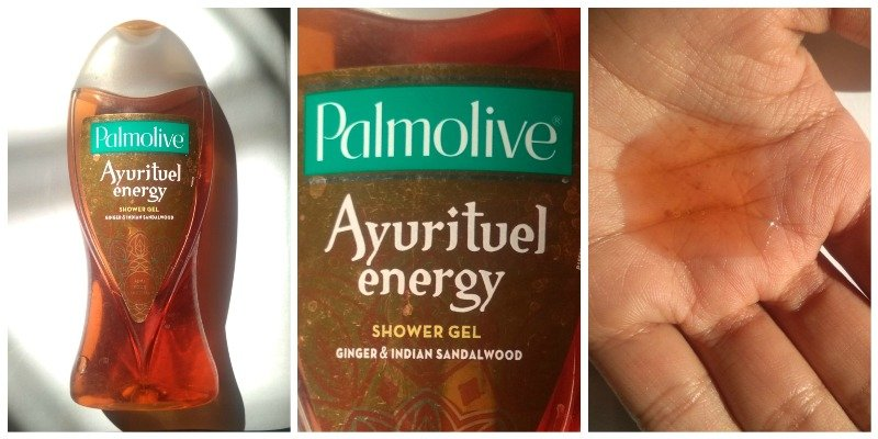 Palmolive Ayurituel Energy Shower Gel Ginger And Indian Sandalwood
