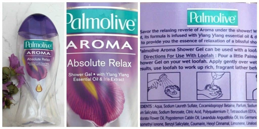 Palmolive Body Wash Ylang Ylang & Iris