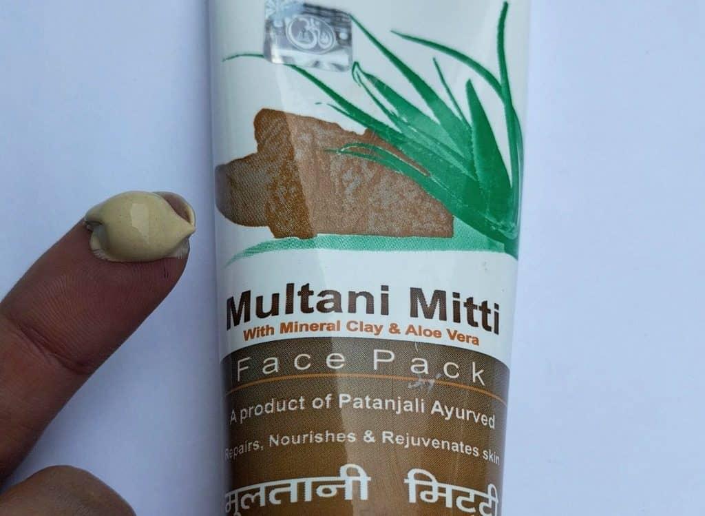 Pantanjali Multani Mitti Face Pack 3