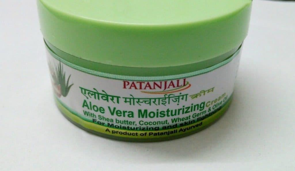 Patanjali Aloevera Moisturizing Cream 1