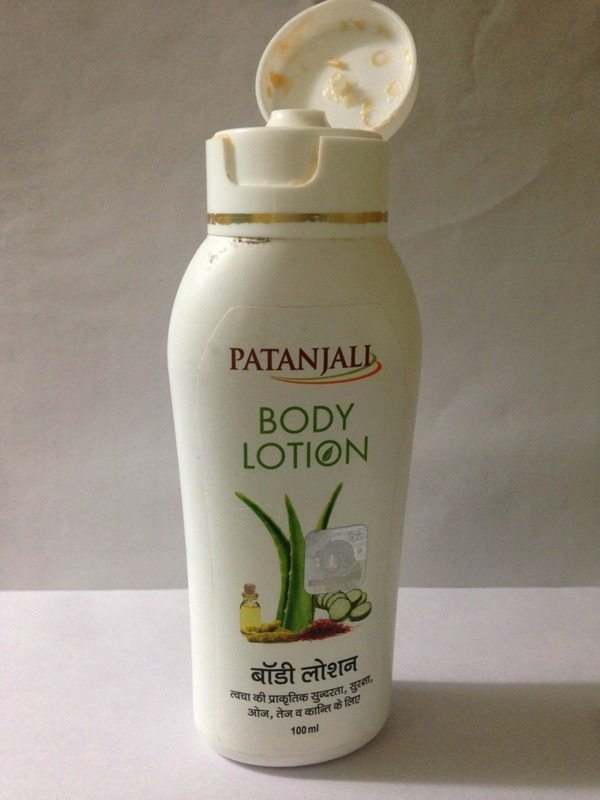 Patanjali Body Lotion Cream Review