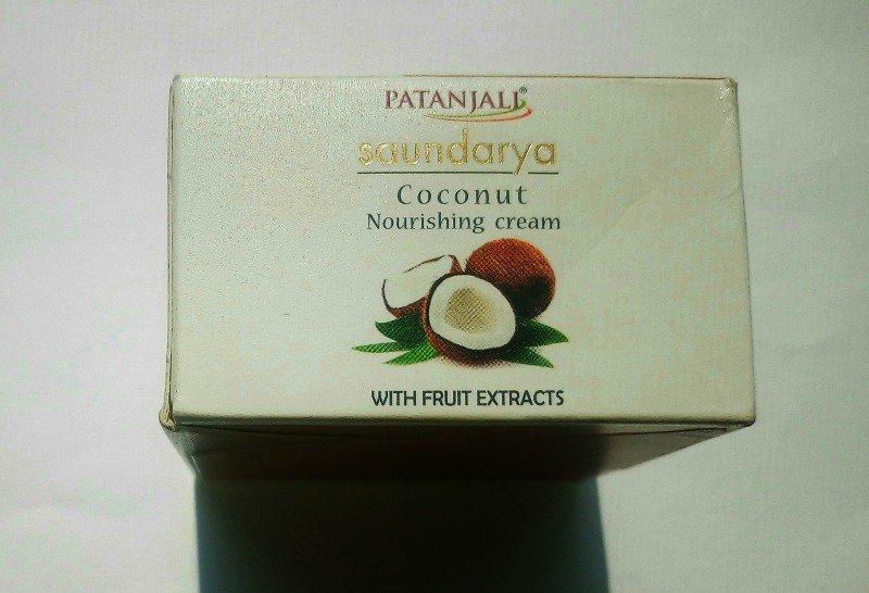Patanjali Cream : Saundarya Coconut Nourishing Cream 2
