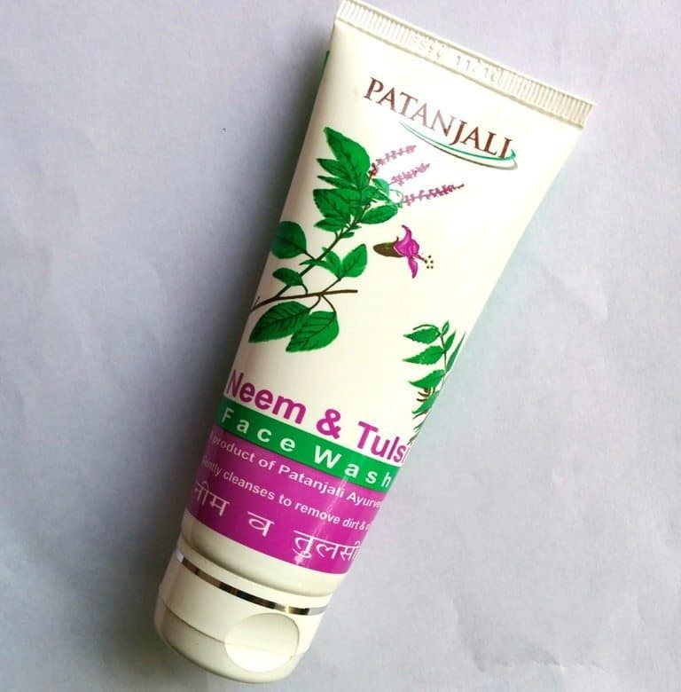 Patanjali Neem and Tulsi Face Wash Review