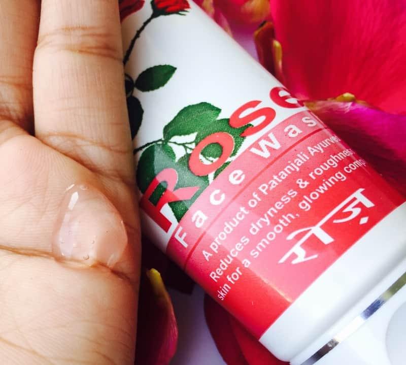 Patanjali Rose Facewash  3