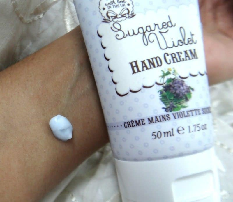 Patisserie De Bain Sugared Violet Hand Cream