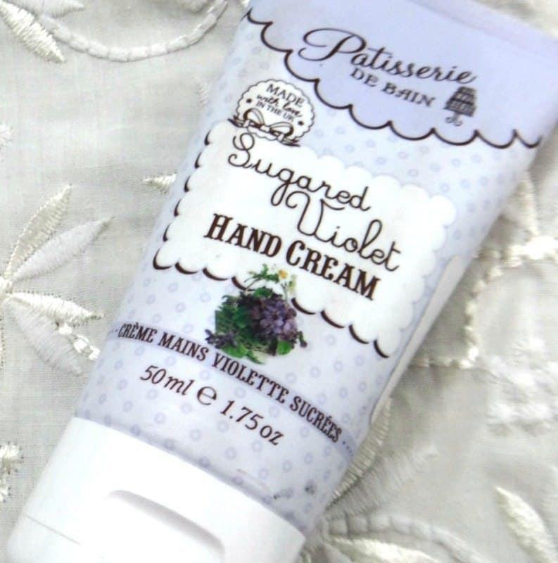 Patisserie De Bain Sugared Violet Hand Cream 2
