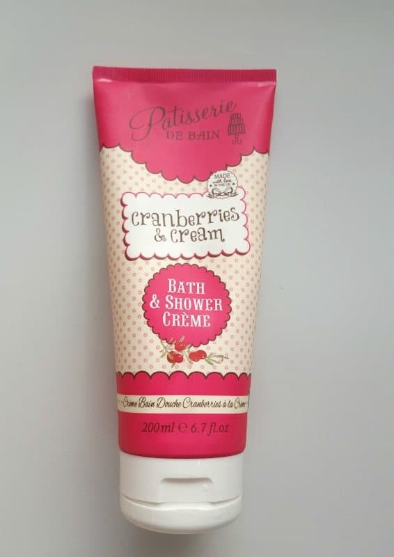 Patisserie de Bain Cranberries & Cream Bath and Shower Crème Refreshes you Inside Out