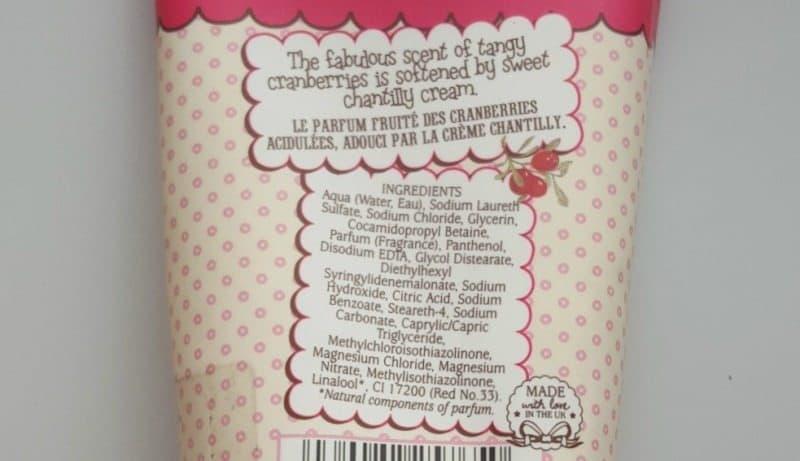 Patisserie de Bain Cranberries & Cream Bath and Shower Crème ...