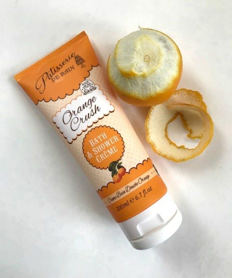 Feeling Fresh with Patisserie de Bain Orange Crush Bath & Shower Crème