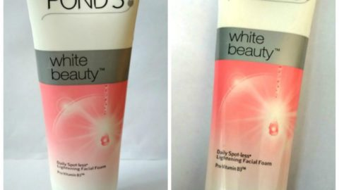 Ponds White Beauty Daily Spotless Lightening Facial Foam With Pro-Vitamin B3 Review