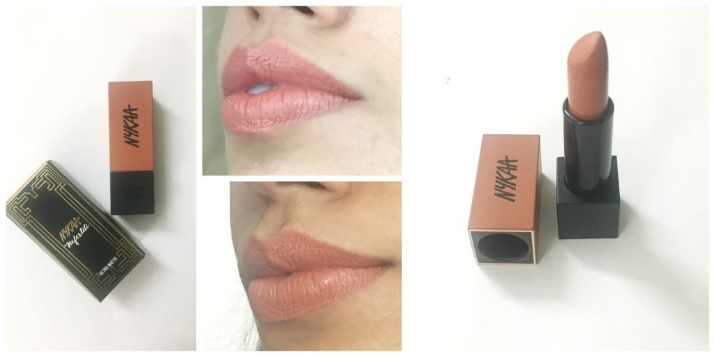 Nykaa Ultra Matte Lipstick Nefertiti Review