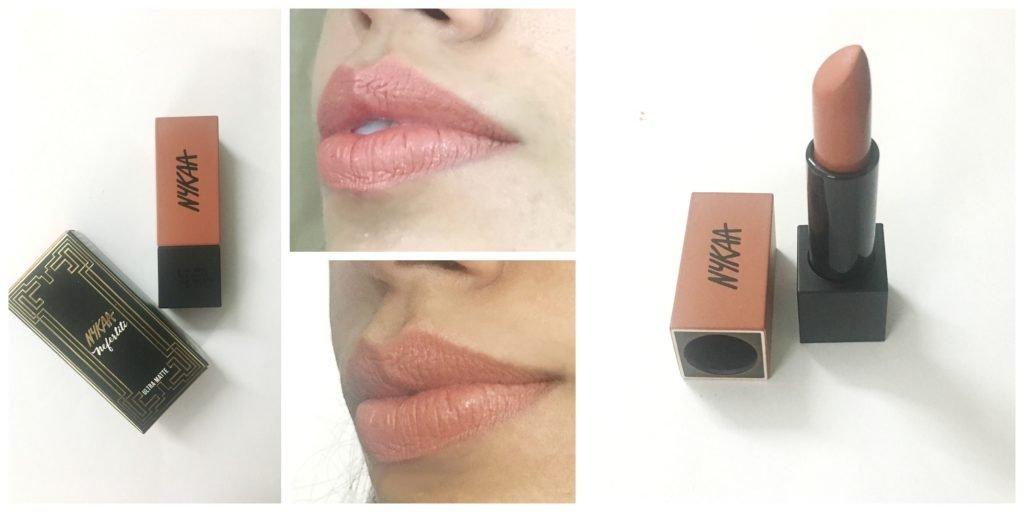 Nykaa Ultra Matte Lipstick Nefertiti Review