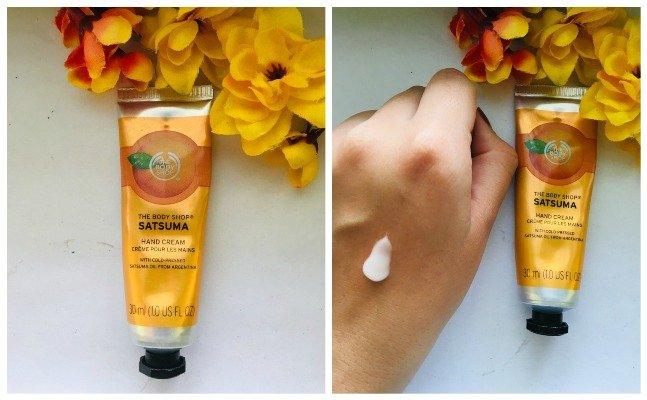The Body Shop Satsuma Hand Cream
