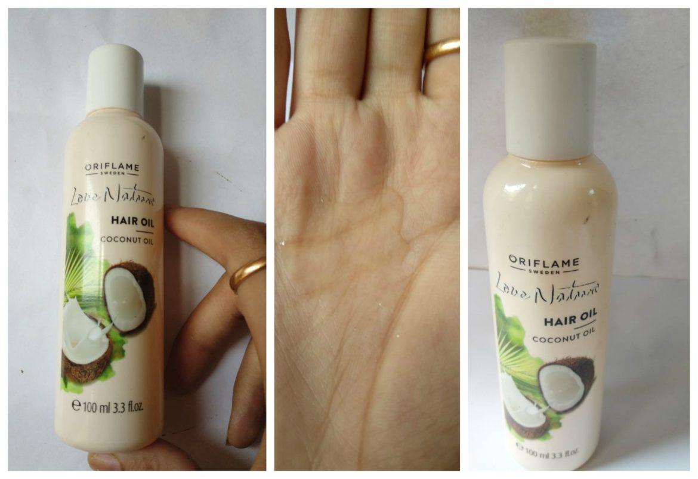 Oriflame Love Nature Coconut Hair Oil