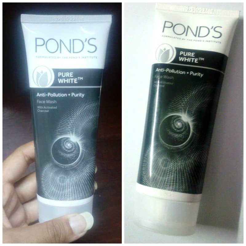 Ponds Pure White Face Wash with Activated Charcoal 5