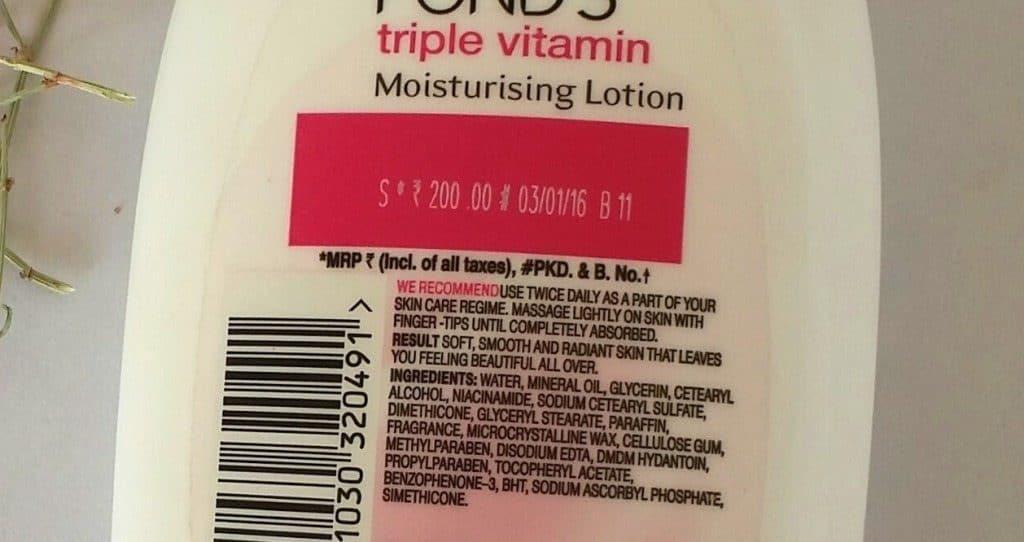 Ponds Triple Vitamin Moisturizing Lotion Review 1