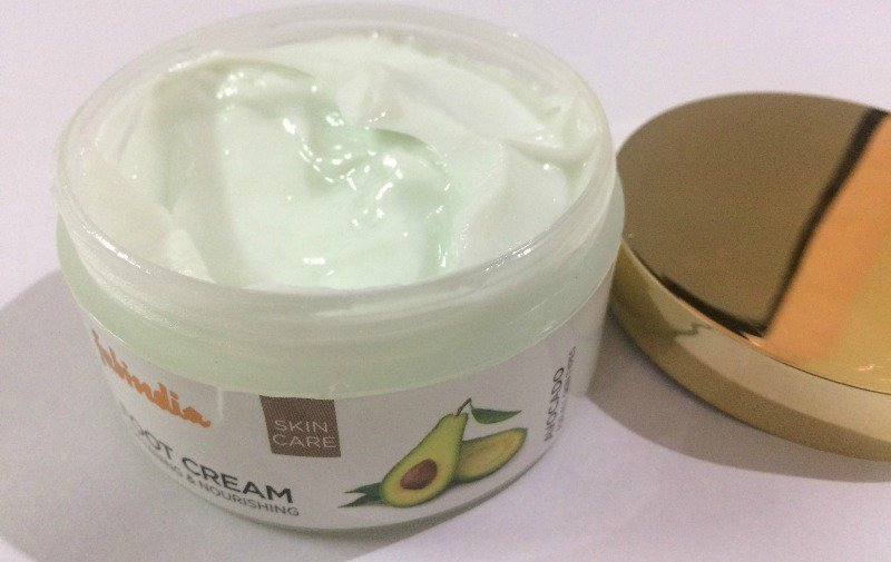 Fabindia Avocado Foot Cream 1