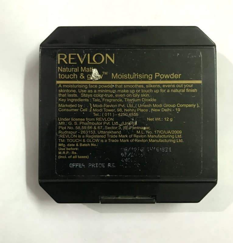 Revlon Touch and Glow Best Compact Powder 3