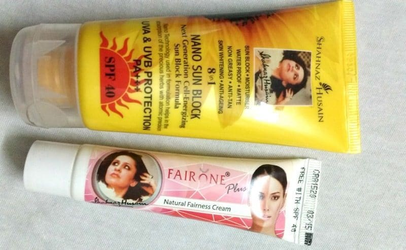 Shahnaz Husain Fair One Natural Fairness Cream Review