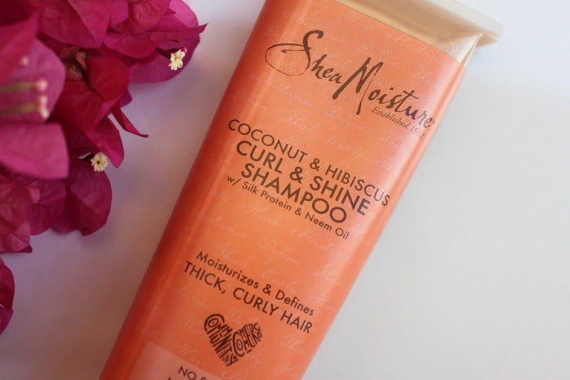 Shea Moisture Shampoo Coconut & Hibiscus Curl & Shine– My Absolute Fav 1