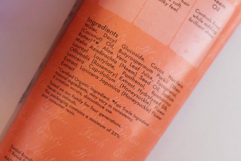 Shea Moisture Shampoo Coconut & Hibiscus Curl & Shine– My Absolute Fav 5