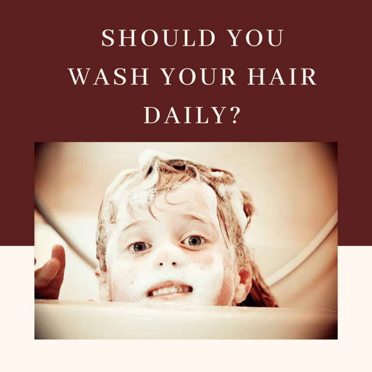 Should you wash your hair daily