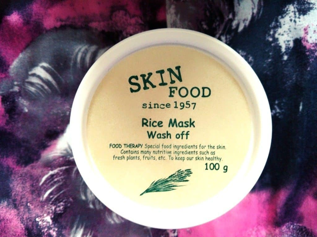 Skin Food Rice Mask Wash Off Review