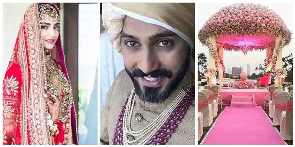 Sonam Kapoor's Wedding Outfit