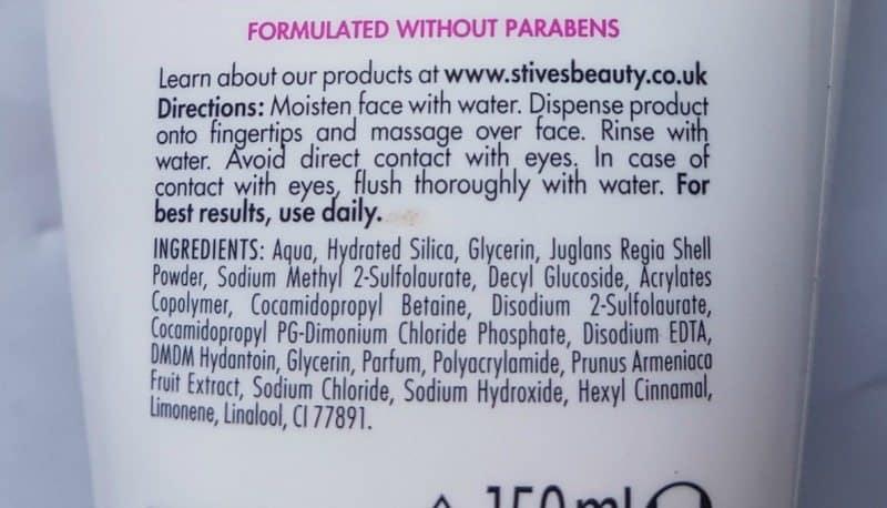 St. Ives Sensitive Skin  Gentle Apricot Scrub  2