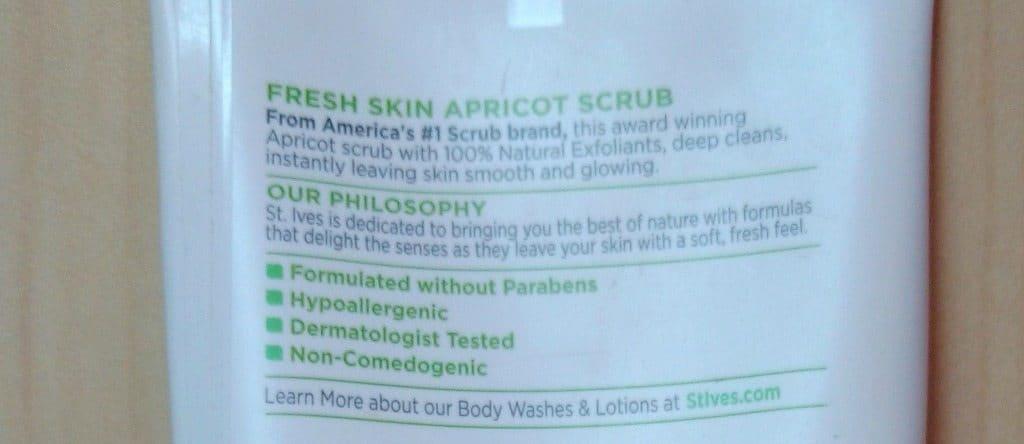 St.Ives Fresh Skin Apricot Scrub Review 3