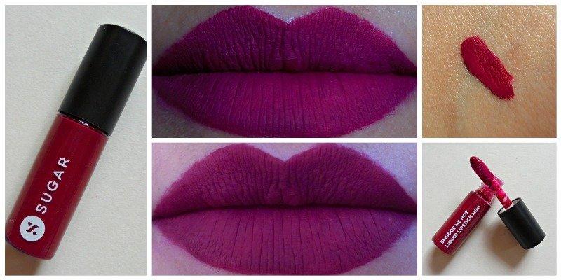 Sugar Fiery Berry Smudge Me not Liquid Lipstick