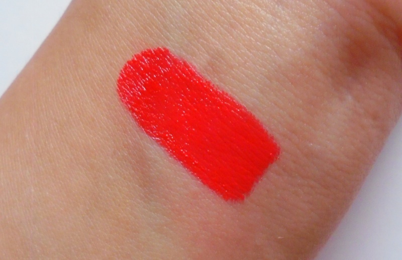 Sugar Never Say Dry Creme Lipstick 09 A Christmas Coral Review 2