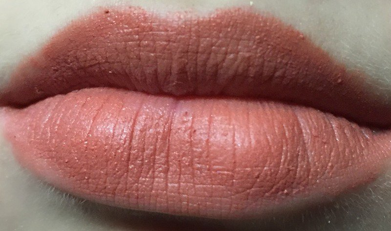 Sugar Princess Peach Matte As Hell Crayon Lipstick 2