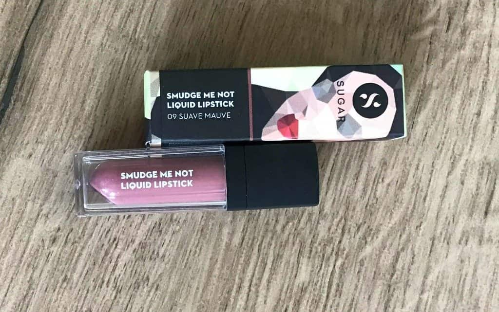 Sugar Smudge Me Not Liquid Lipstick 09 Suave Mauve Review