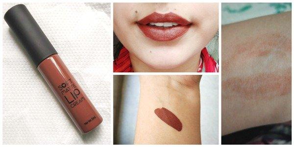 Swiss Beauty Soft Matte Lip Cream No. 5